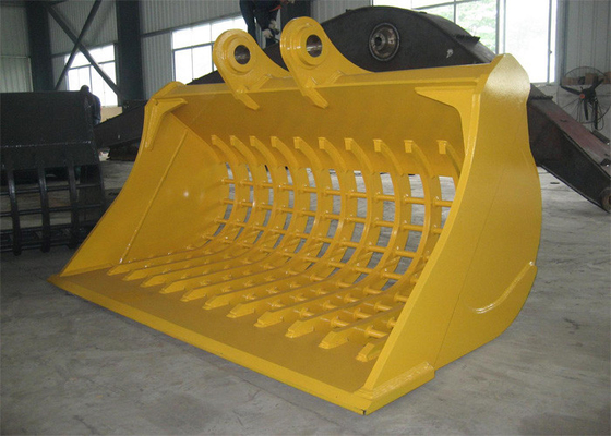 Single Cutting Edge Excavator Skeleton Bucket For Caterpillar CAT320 Excavator