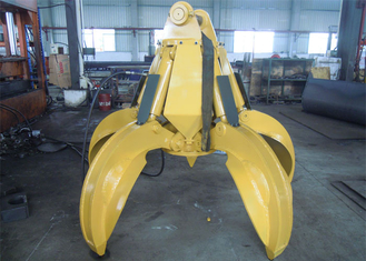 No Rotate Hydraulic Orange Peel Grab Bucket for CAT320 Excavator