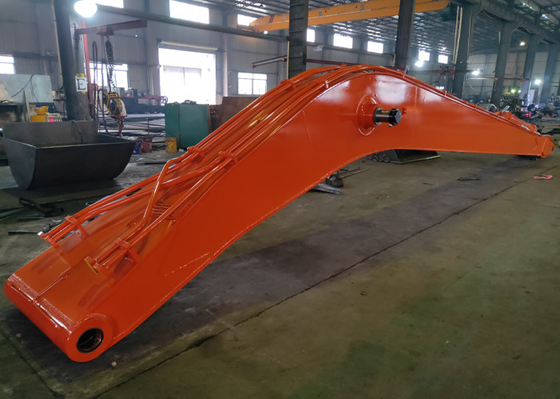 High Efficiency Excavator Long Boom And Stick For Dredging Rivers Port Construction